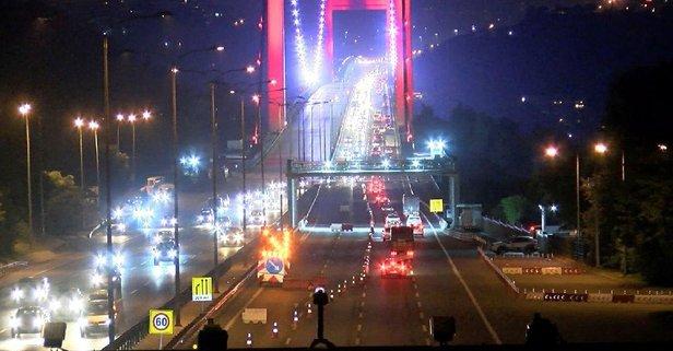 Beklenen açıklama geldi! FSM Köprüsü bu gece...