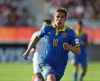 Galatasaray Ukraynalı golcünün peşinde