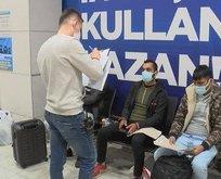 Ceza yiyince Türkçe konuşmaya başladı