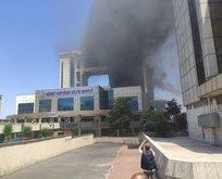 İstanbul kültür merkezinde yangın!