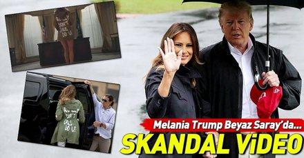 ABD'li rapçi T.I'dan First Lady Melania Trump klibi