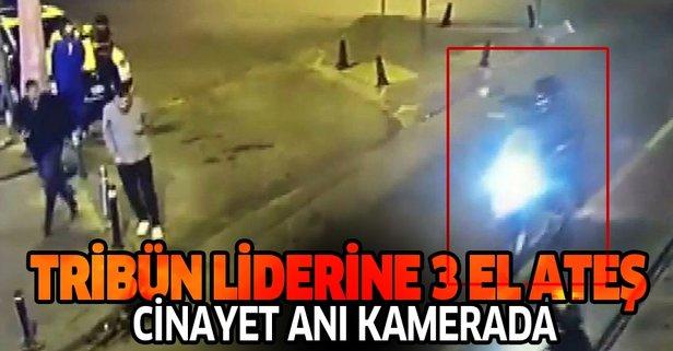 'İkiz Gökhan'ın öldürüldüğü silahlı saldırı kamerada