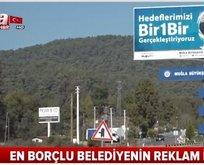 CHPli Belediye 30 tabelaya 500 bin lira harcadı