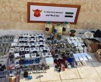 Jandarma ve MİT'ten ortak operasyon! 1 ton patlayıcı ele geçirildi