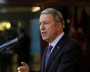 Bakan Akar'dan çok kritik NATO açıklaması