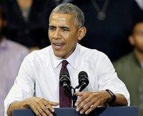 Obamadan sert tepki!