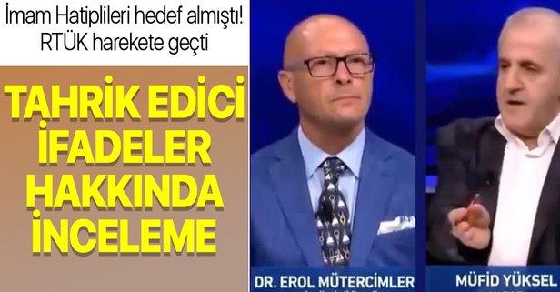RTÜK'ten 'Erol Mütercimler' açıklaması