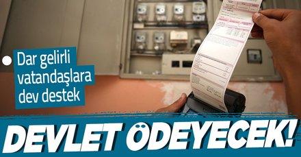 Son dakika: Elektrik faturasını ödeyemeyen vatandaşlara devlet desteği! Elektrik faturalarını devlet ödeyecek