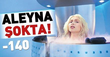 Aleyna Tilki Cryotheraphy uygulamasını yaptırdı