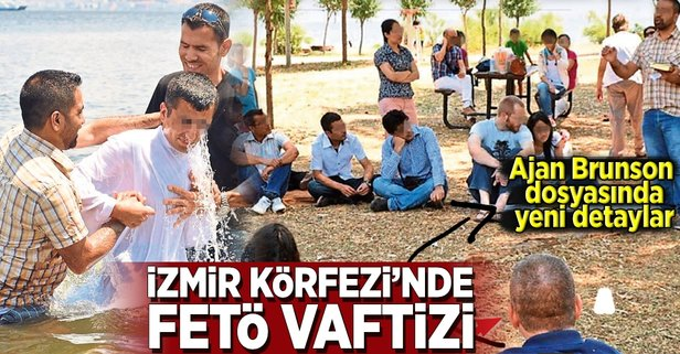 İzmir Körfezi'nde FETÖ vaftizi