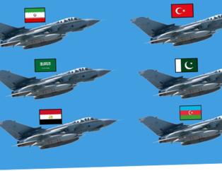 Yeri göğü inletiyorlar! İşte dünyayı korkutan o liste.... İslam Ordusu'na katılan 34 ülke ve savaş güçleri