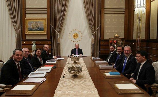 Son dakika: Türkiye Varlık Fonu AŞ Yönetim Kurulu Toplantısı, Cumhurbaşkanı Erdoğan başkanlığında gerçekleştirildi 1