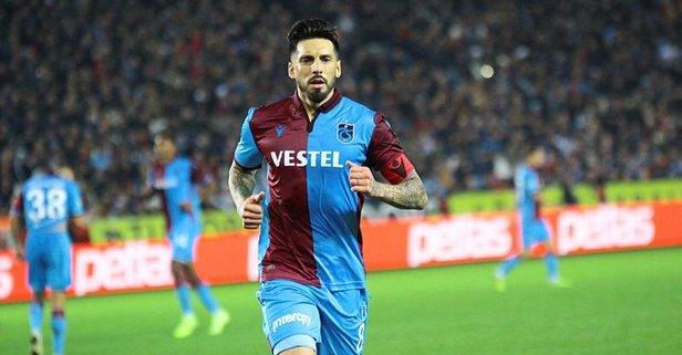 Trabzonspor'dan flaş Jose Sosa açıklaması!