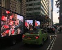 New York sokaklarında Türkiye tanıtımı