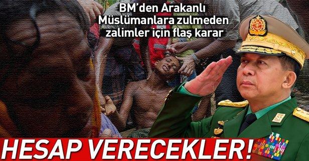 BMden flaş Arakan kararı!