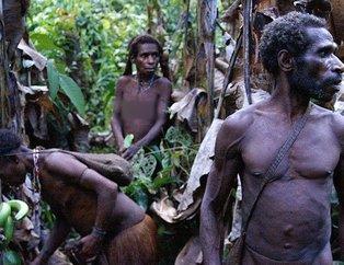 Endonezyadaki yamyamların son kabilesi görüntülendi