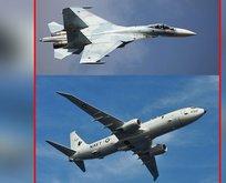 Rus ve ABD uçakları karşı karşıya geldi