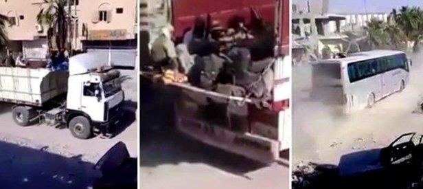 ABD-YPG korumasında DEAŞlı teröristlere tahliye