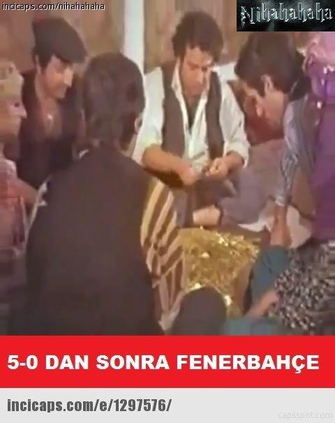 Fenerbahçe - Karabükspor maçı caps'leri