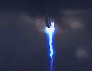 Gökyüzünde bir anda ortaya çıktı! Dünyaya korku saldı