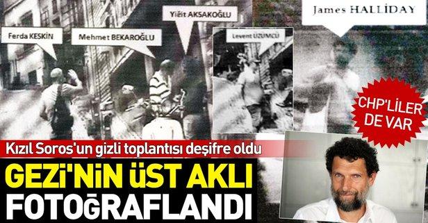 Gezi'nin 'dış aklı' fotoğraflandı