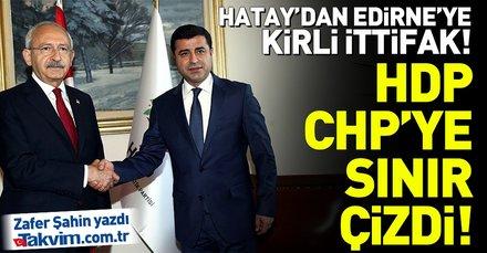 HDP ittifak için CHP'ye sınır çizdi