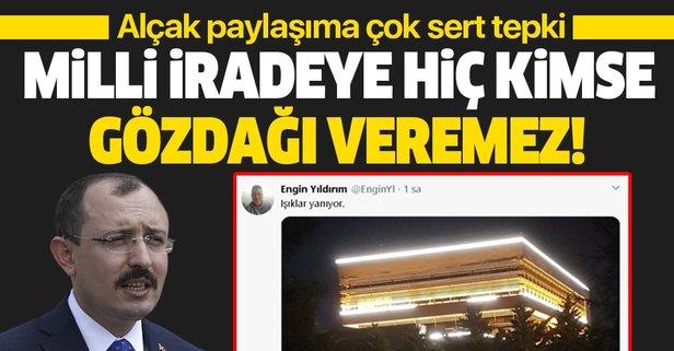 Mehmet Muş'tan alçak paylaşıma çok sert tepki!