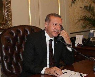 Başkan Erdoğan'dan Tebbun'a tebrik telefonu