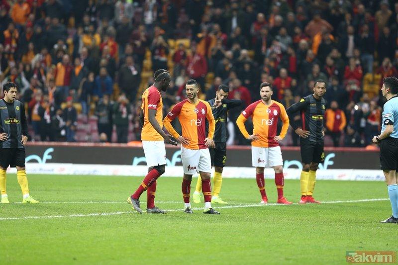 Galatasaray'da şok gerginlik! Belhanda ve Diagne...