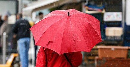 Meteoroloji'den san dakika uyarısı geldi: İki bölge hariç her yerde yağış var