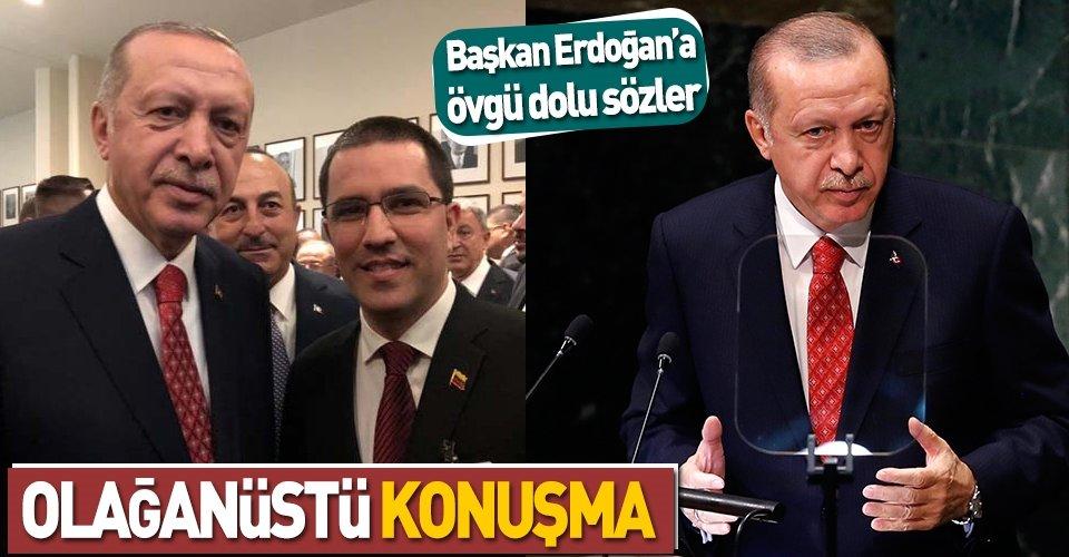 Başkan Erdoğanda övgü dolu sözler