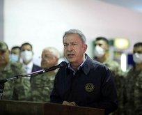 Bakan Akar ve TSK komuta kademesi Libya'da!