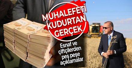 Başkan Erdoğan miktarı açıkladı, esnaf sevince boğuldu