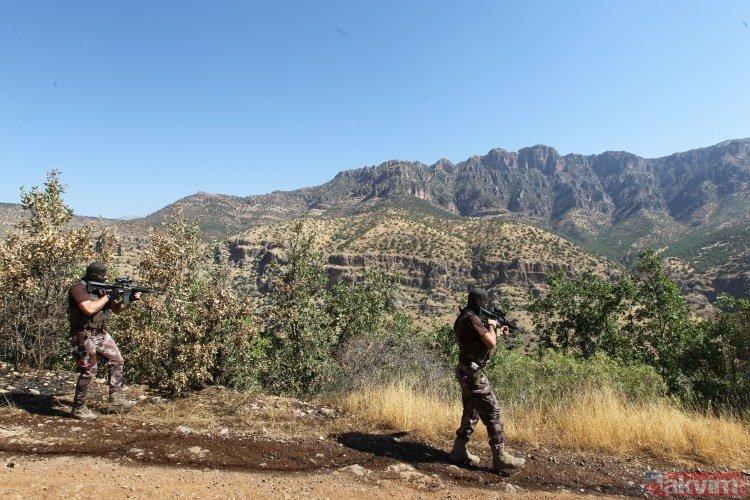 40 derece sıcakta PKKlı avı!