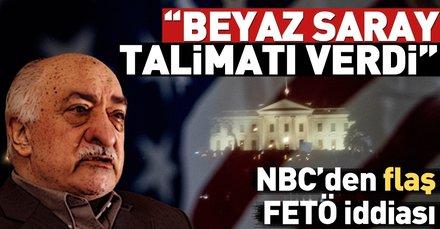 Son dakika... Amerikan NBC televizyonundan Fetullah Gülen iddiası! FETÖ elebaşı Gülen iade edilecek mi?