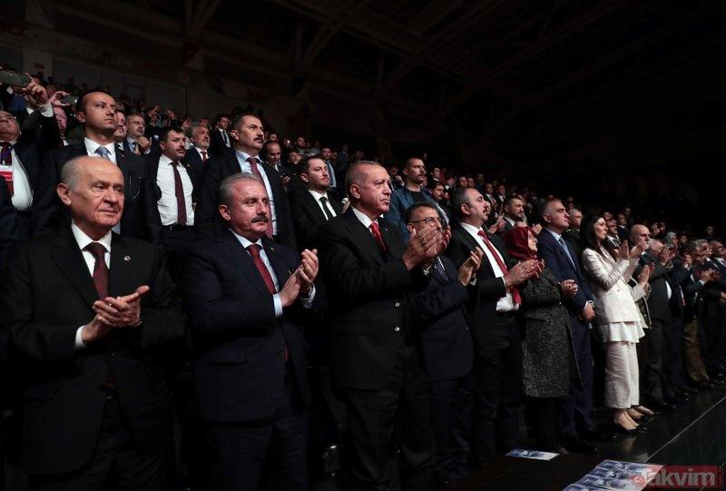 Başkan Erdoğan 1919 Bitmeyen Yolculuk programına katıldı