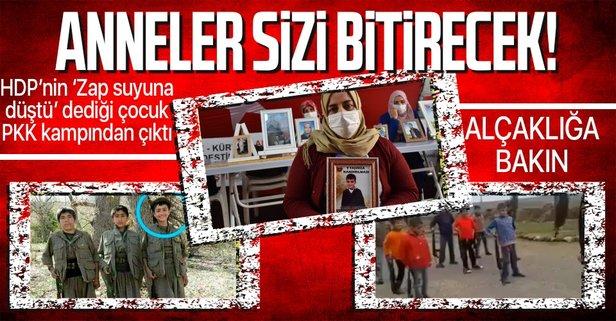 Terör örgütü PKK'nın alçaklığına bakın!