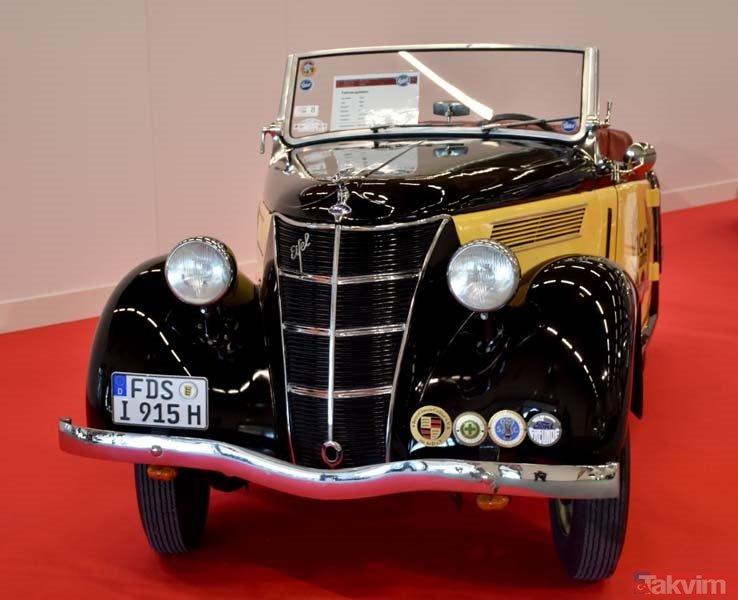 Klasik otomobiller görücüye çıktı