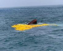 Türk balıkçı gemisi battı