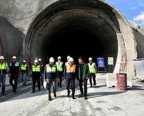 Dev tünelin yüzde 60'ı tamamlandı