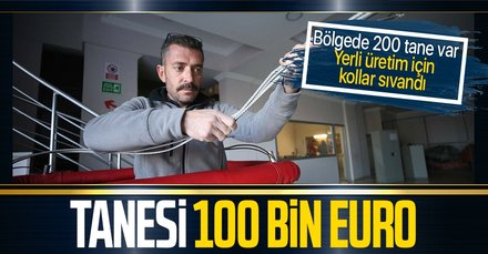 Tanesi 100 bin euro! Yerli üretim için kollar sıvandı