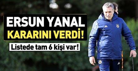 Fenerbahçe'de transfer şov başlıyor! Ersun Yanal kararını verdi...