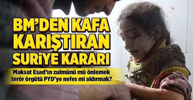 BMGK'dan flaş Suriye kararı!