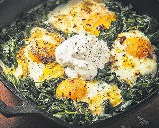 Güçlü hafızanın sırrı: Ispanaklı yumurta