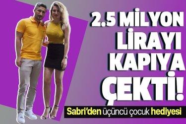 Sabri Sarıoğlu'dan eşine 2.5 milyon liralık hediye! İstanbul sokaklarında görüldü