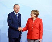 Davete icabet eden Merkel yarın Türkiye'de