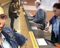 Ebru Yaşar metroyu keşfetti