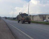 Reyhanlı'da sınıra askeri araç sevkiyatı