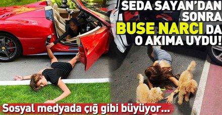 Türkiye'de Seda Sayan'ın öncülüğünü yaptığı 'falling stars akımı' sosyal medyada çığ gibi büyüyor