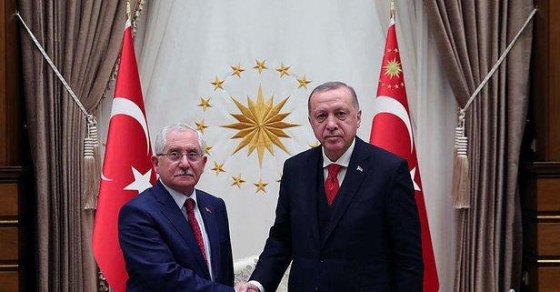 Başkan Erdoğan, YSK Başkanı Güven'i kabul etti
